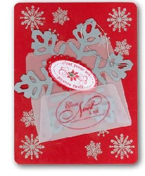 Stamper's Showcase snowflake card