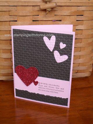Glimmer Paper Valentine