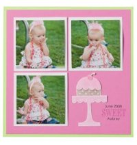 Sweet Baby Scrapbook Page