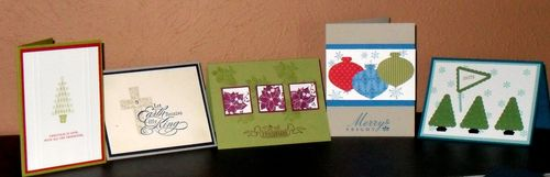 Quick & Easy Christmas Cards Class