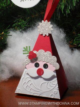 Petal Cone Santa 1