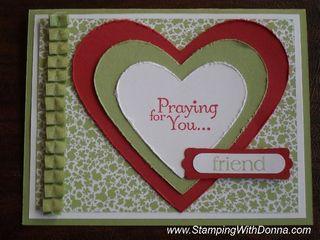Twitterpated Heart Prayer Card 2