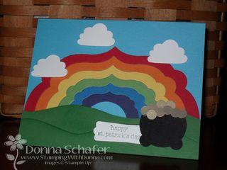 Framelits Rainbow St Patricks Day