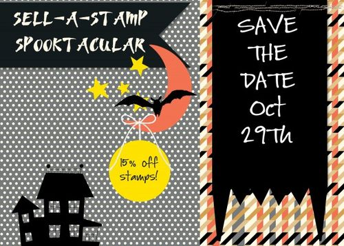 Sell-a-stamp spooktacular