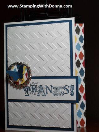 Parker's Patterns & Vintage Verses Thank You Card sm
