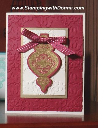 Ornament Keepsakes Gold Emb 2 sm