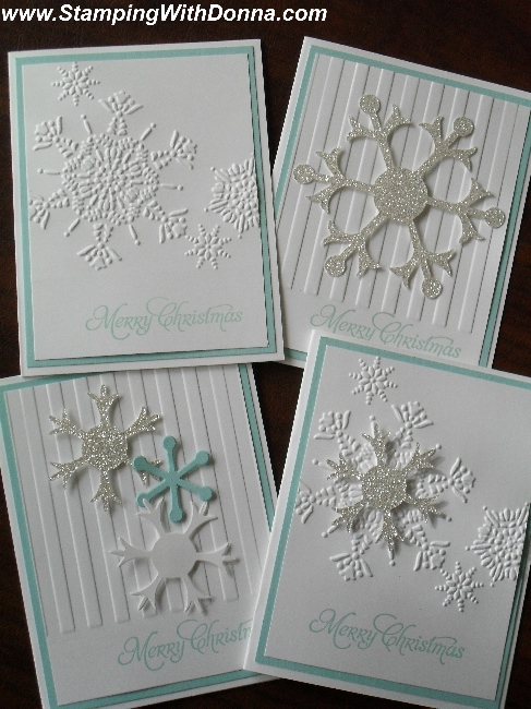 Pool Party Snowflake Cards sm