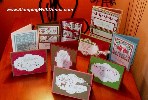 Cards with stamp case lg