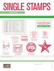Single Stamps Holiday Asst