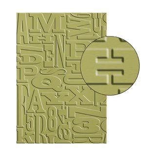 Alphabet-press