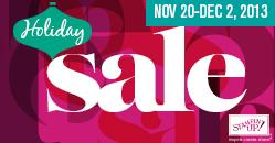 2013 ONline sale