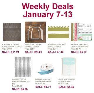 Weekly deals jan 7-13