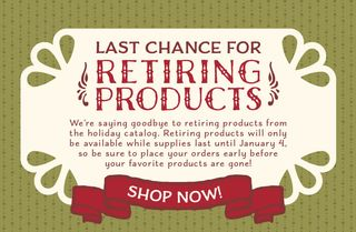 2015 Holiday Last Chance Retiring