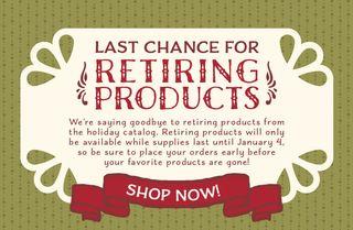2015 Holiday Last Chance Retiring